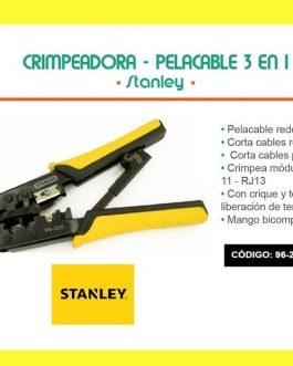 PINZA TERMINALES TELEFONICOS 96225 STANLEY
