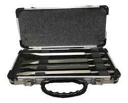 Juego Set 4 Cinceles 250mm SDS Plus D08757 MAKITA