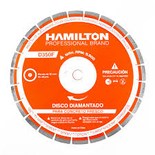 DISCO DIAMANTADO HORMIGON FRESCO 350MM HAMILTON