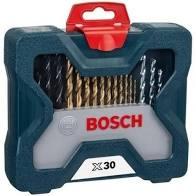Juego Set De Mechas Y Puntas Bosch X Line 30 Piezas