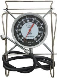 Manometro Medidor De Presion Aire  Comodin 150mm 120psi