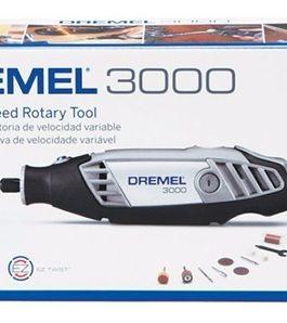 Minitorno De Velocidad Variable 3000 Con 10 Accesorios DREMEL