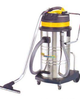 Aspiradora Polvo/Liquido Acero Inoxidable 80 Litros Industrial BTA
