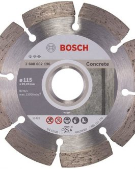 Disco Diamantado Segmentado Concreto 115mm Profesional BOSCH