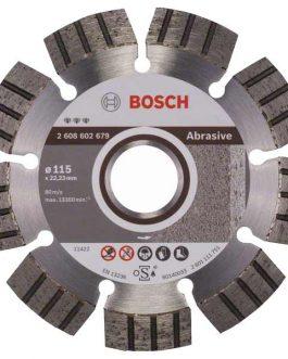 Disco Diamantado Segmentado Abrasivo 115 mm  BEST BOSCH