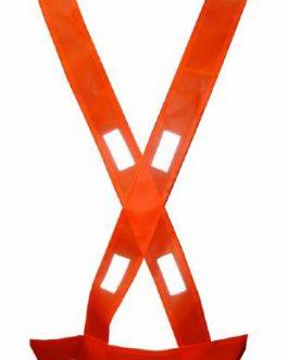 Bandolera Naranja Con Reflectivo GARDEX