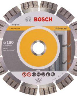 Disco Diamantado Segmentado Universal 180 mm BEST BOSCH