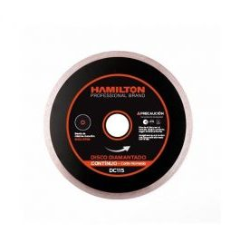 Disco Diamantado Continuo 115mm HAMILTON