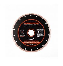 Disco Diamantado Segmentado 115mm HAMILTON