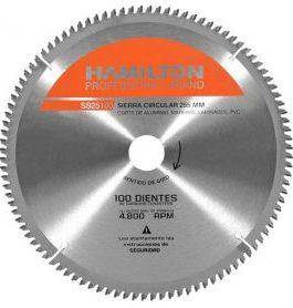 Disco Sierra Circular Aluminio 255mm HAMILTON