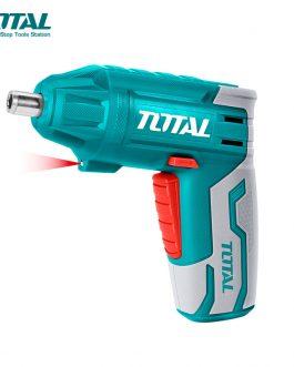 Atornillador a Batería 4V Litio TSDLI0401 TOTAL