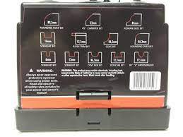 Juego De Fresas Kit Router Para Madera  Por 12 Pzas. GUILLER