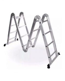 Escalera Aluminio Articuladas 16 Escalones 4.72Mt KLD