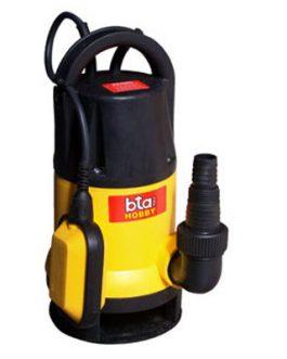 Electrobomba Sumergible 3/4Hp Agua Sucia BTA