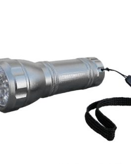 Linterna Aluminio 12 Led CROSSMASTER
