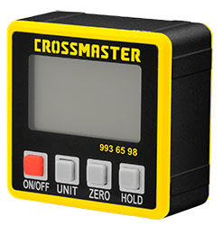 Goniómetro Inclinómetro Digital CROSSMATER