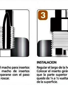 Kit Insertos Para Roscas 1/2×12 BSW (32080) ARCOIL