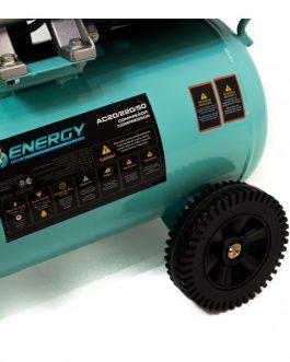 Compresor De Aire 24Lts 2Hp + Kit De Aire ENERGY